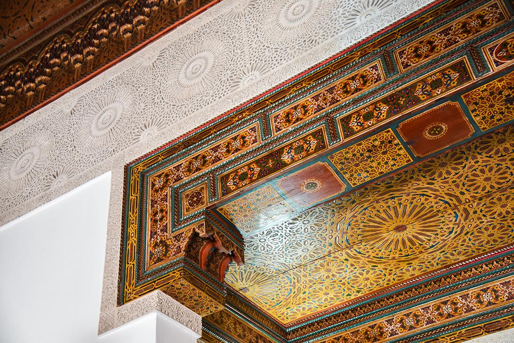 Architecture style hispano-mauresque à la Grande Mosquée de Paris
