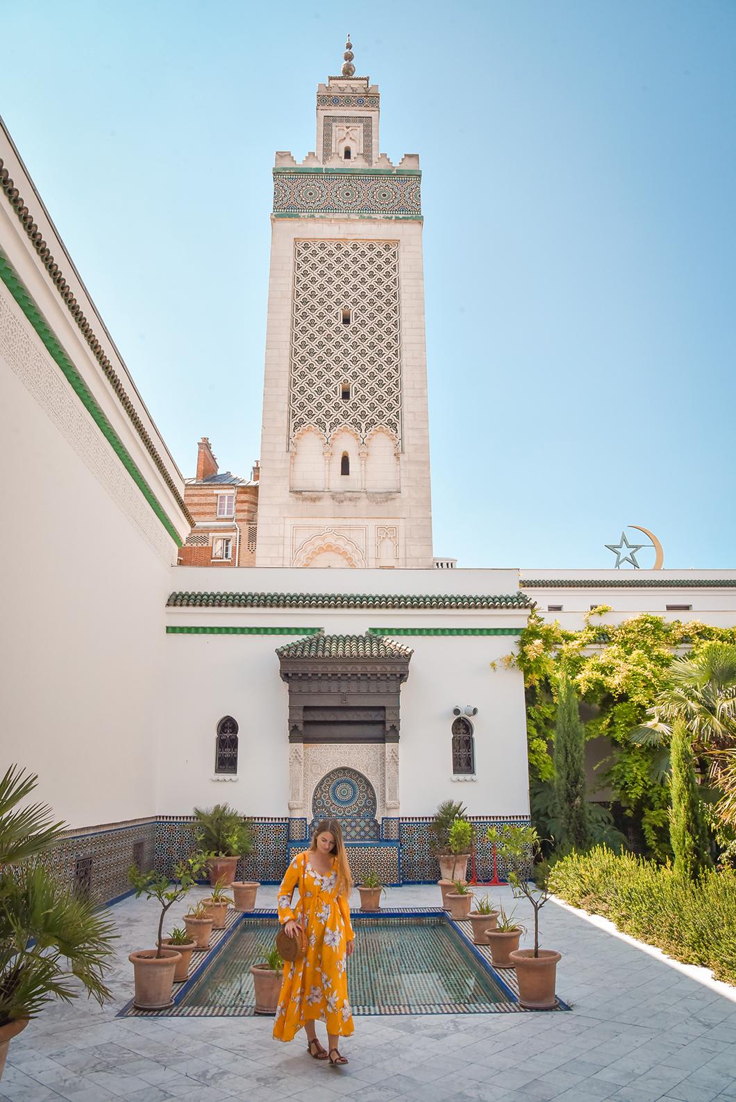 Voyager sans quitter Paris à la Grande Mosquée