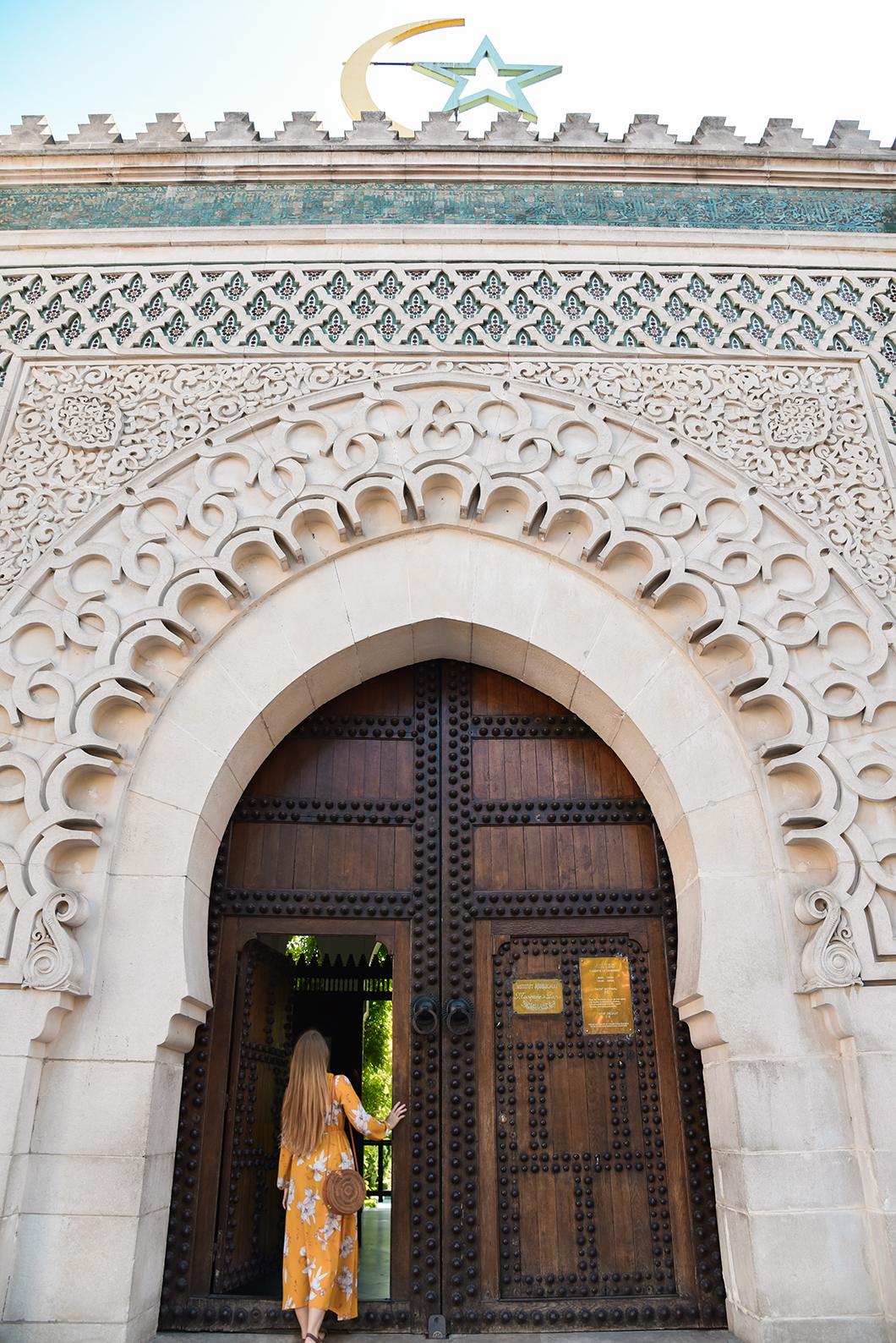 Visite de laGrande Mosquée de Paris