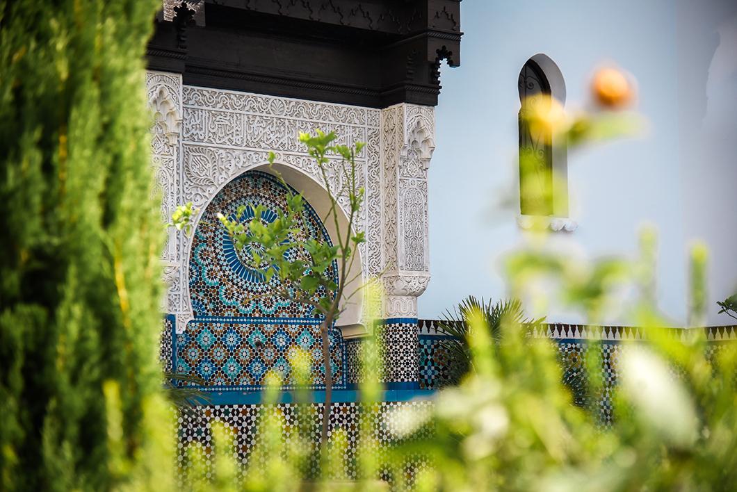 Un week end à Paris, visite de la Grande Mosquée