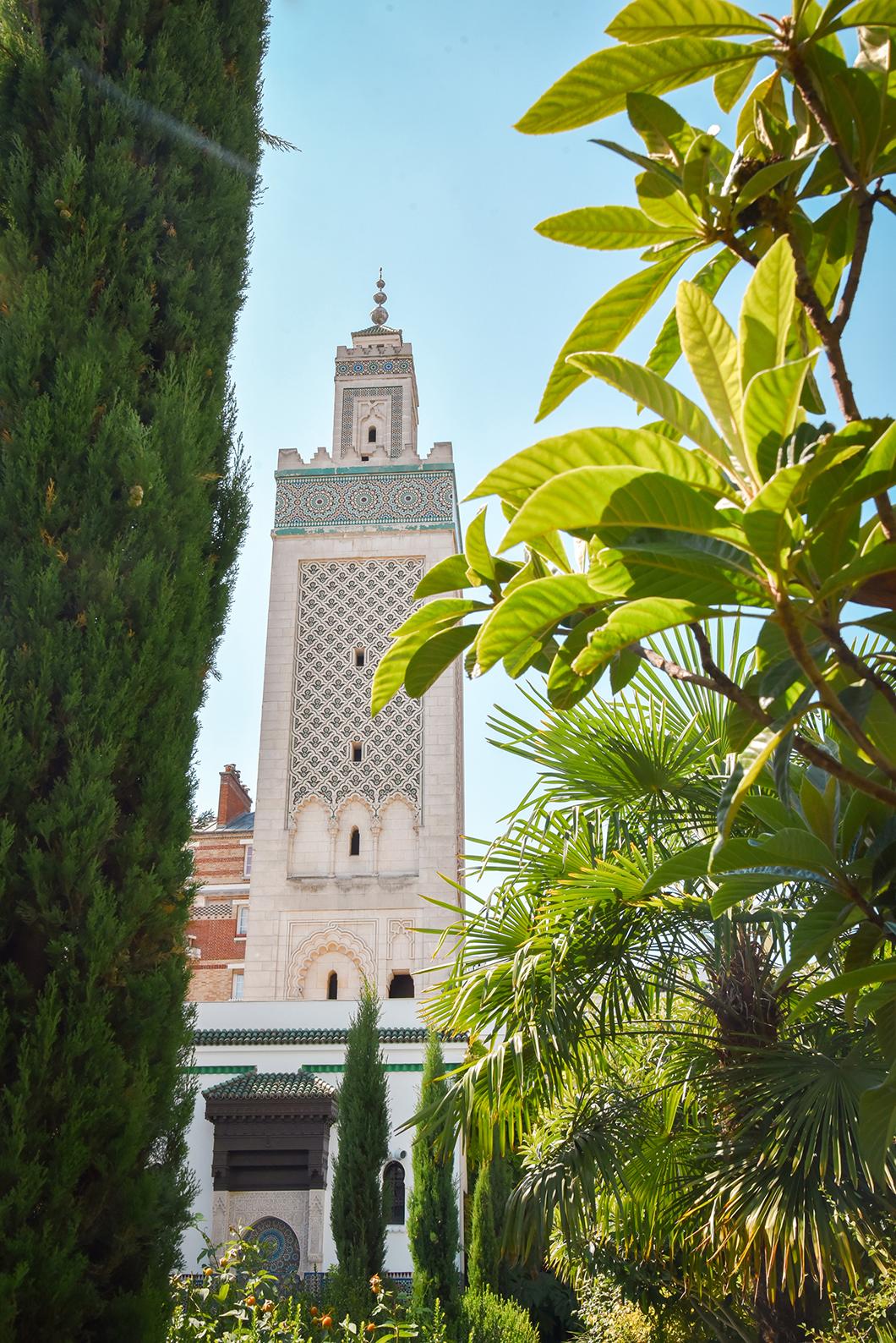 Visite à Paris, la Grande Mosquée