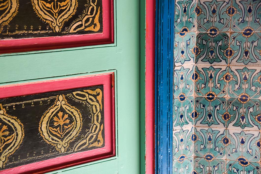 Salon de thé de la Grande Mosquée de Paris dans le 5ème arrondissement
