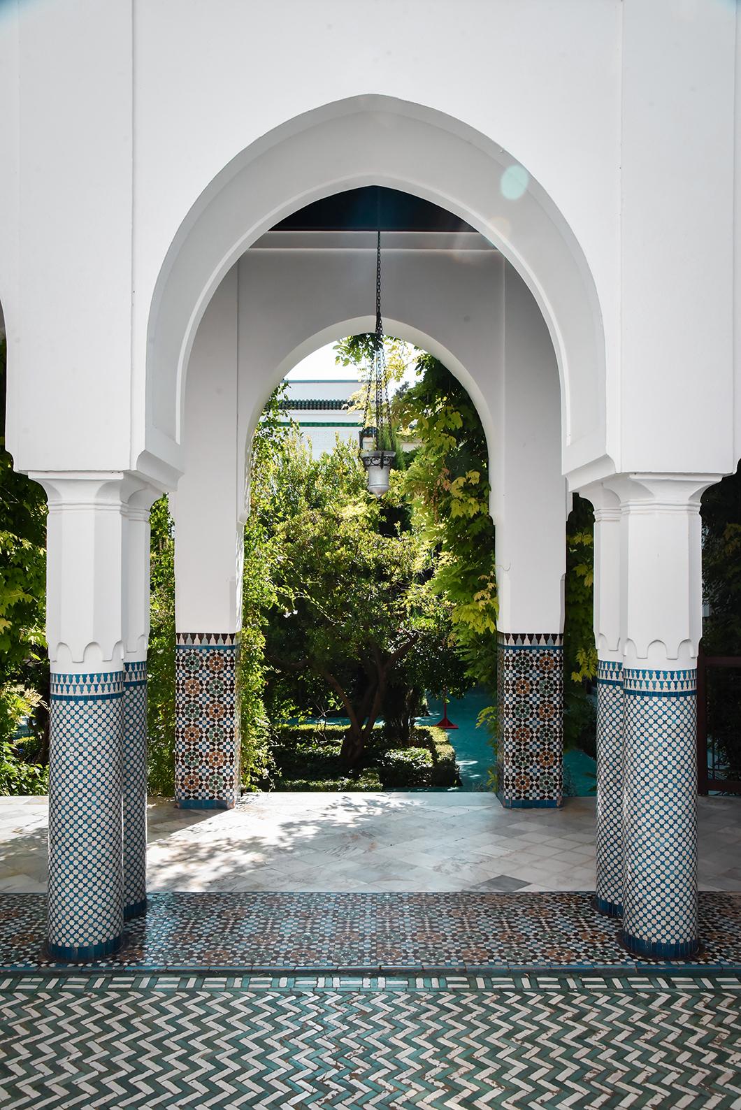 Visite insolite dans Paris à la Grande Mosquée