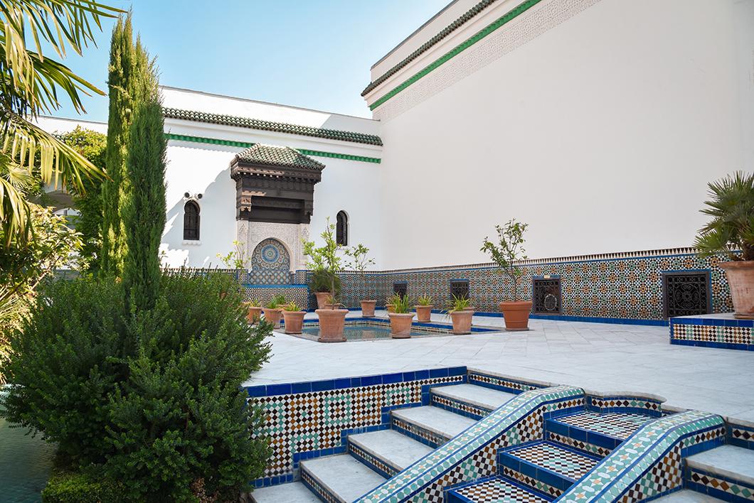Grande Mosquée de Paris, comme un voyage au Maroc
