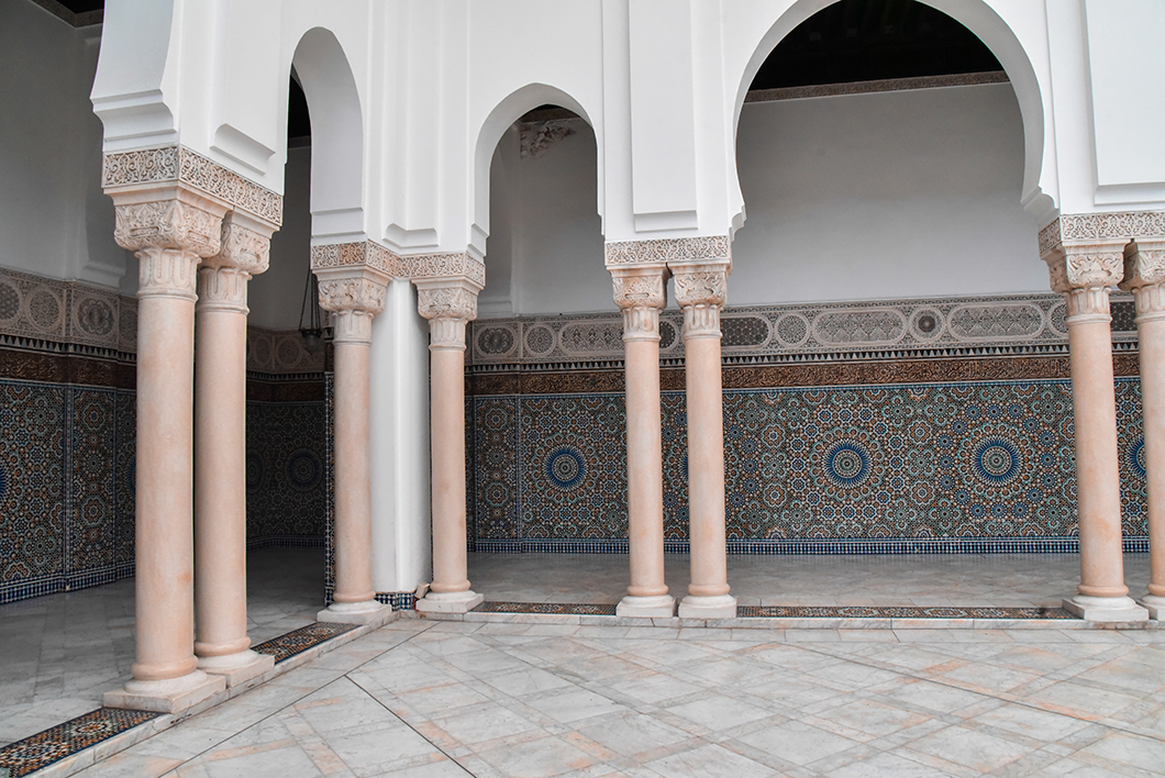 La Grande Mosquée, Paris secret