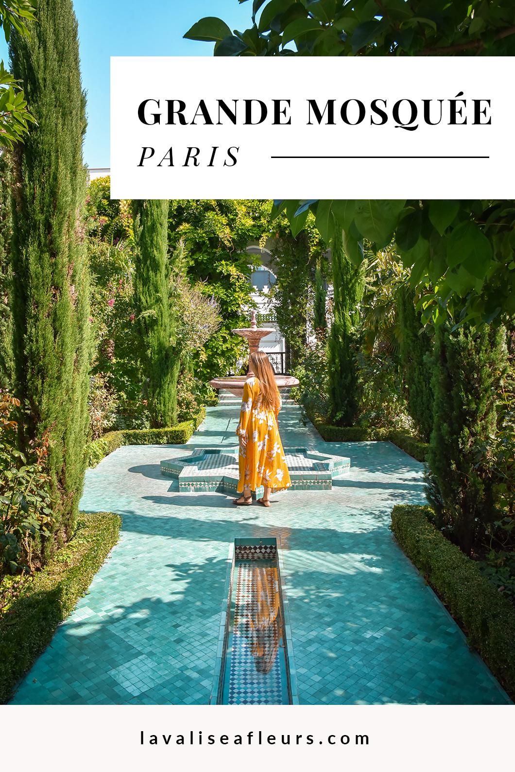 Visiter la Grande Mosquée de Paris, activité insolite