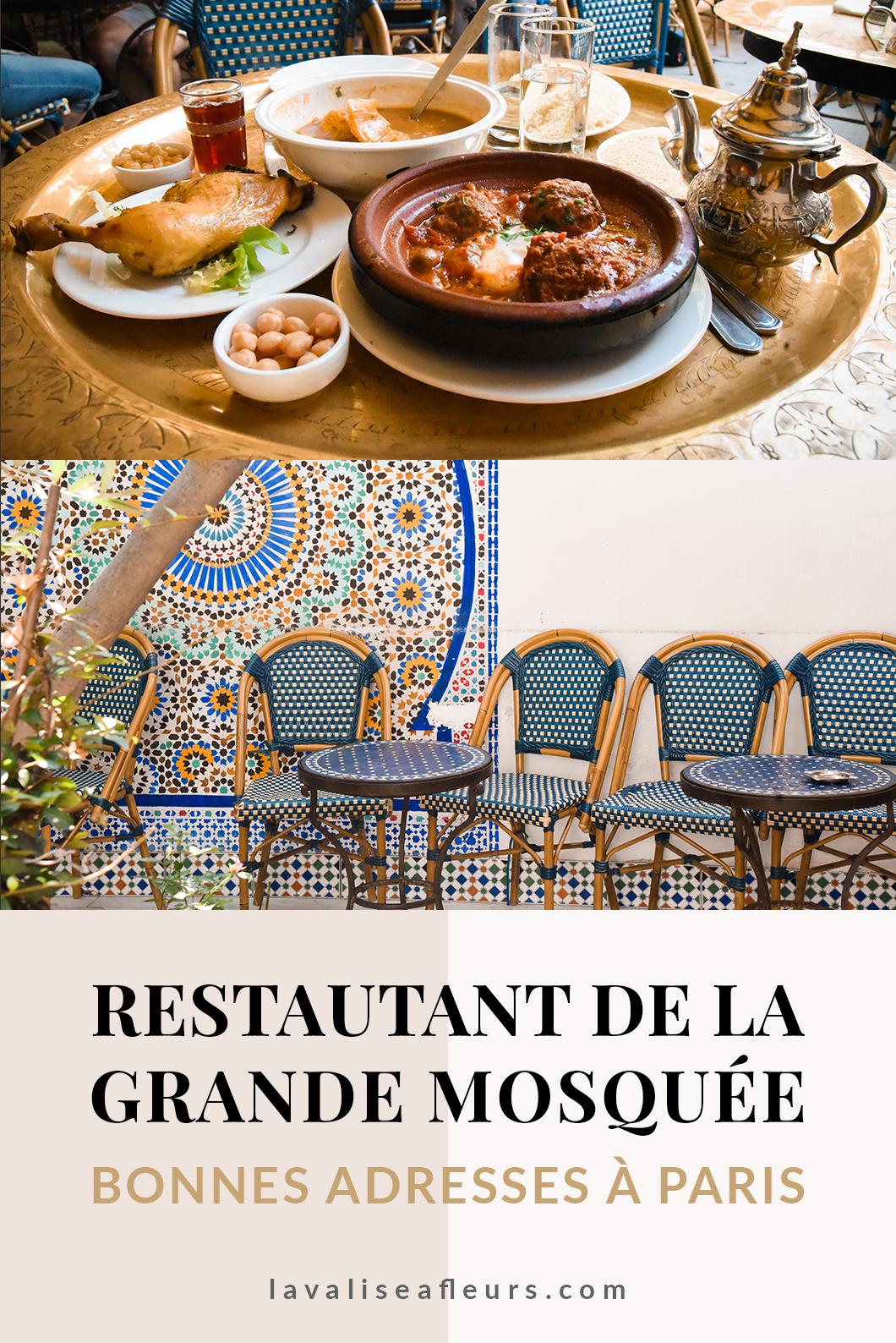 Restaurant de la Grande Mosquée nos bonnes adresses à Paris