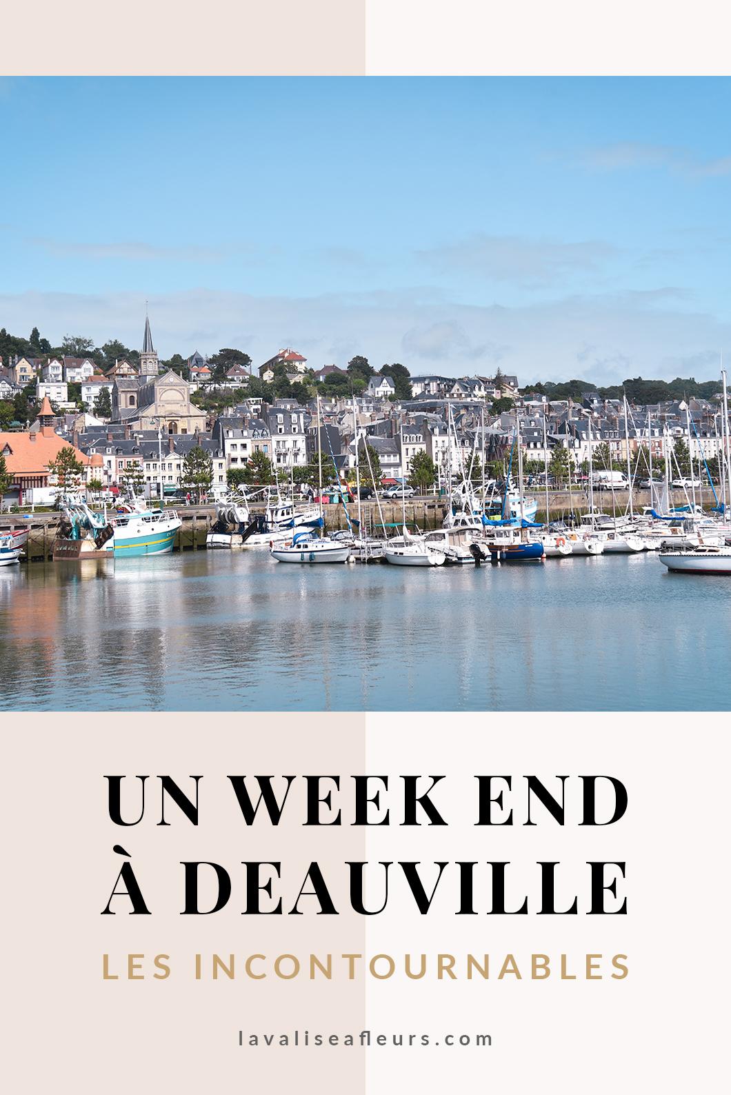 Un week end à Deauville, les incontournables à visiter