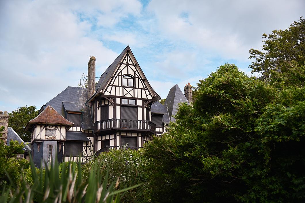 Les jolies maisons d'Étretat