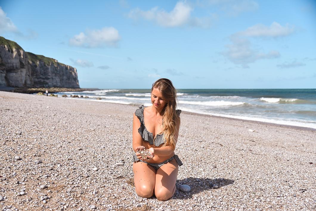 La plage du tilleul, incontournable à Étretat