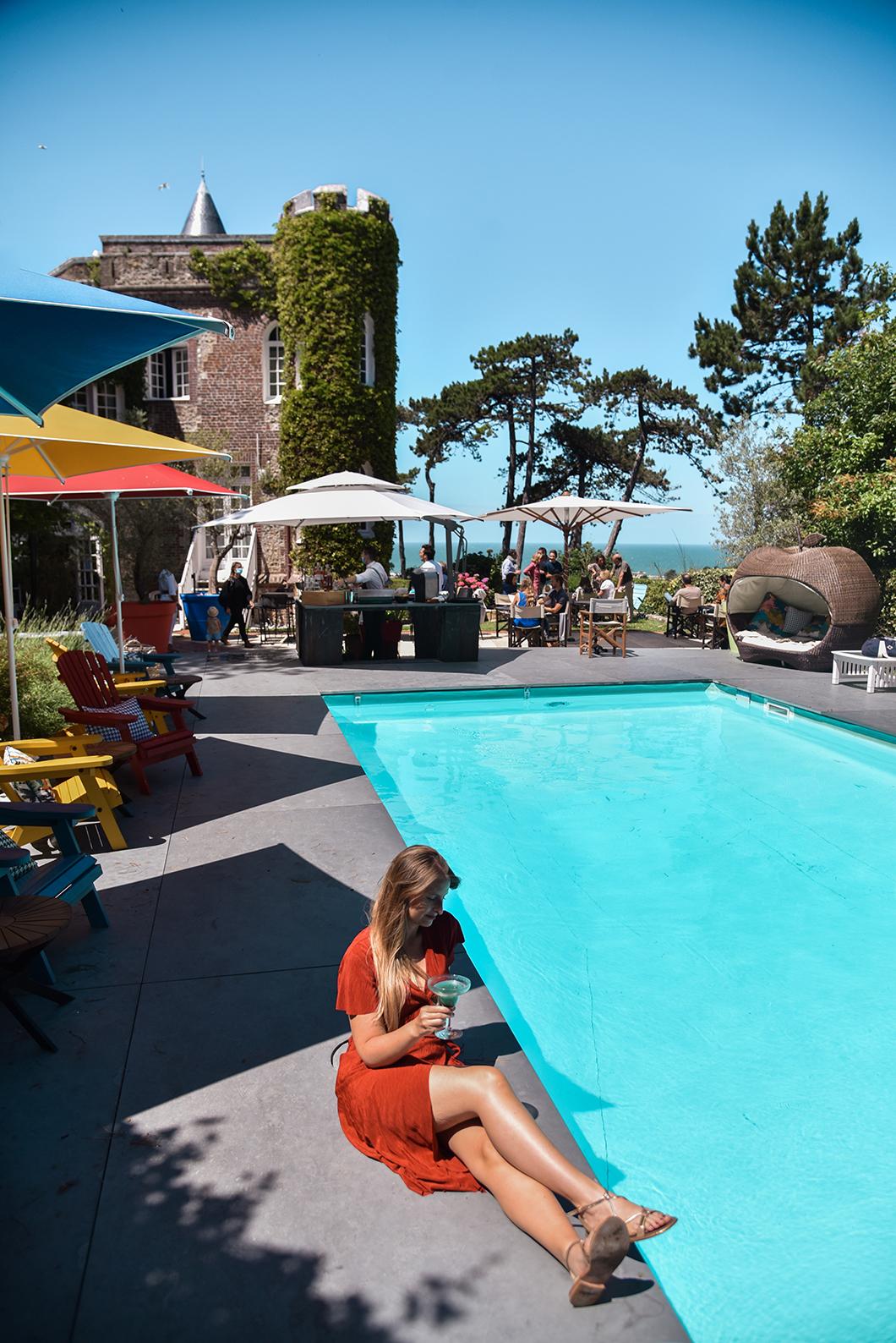 Le Domaine Saint Clair, super hôtel restaurant avec piscine à Étretat