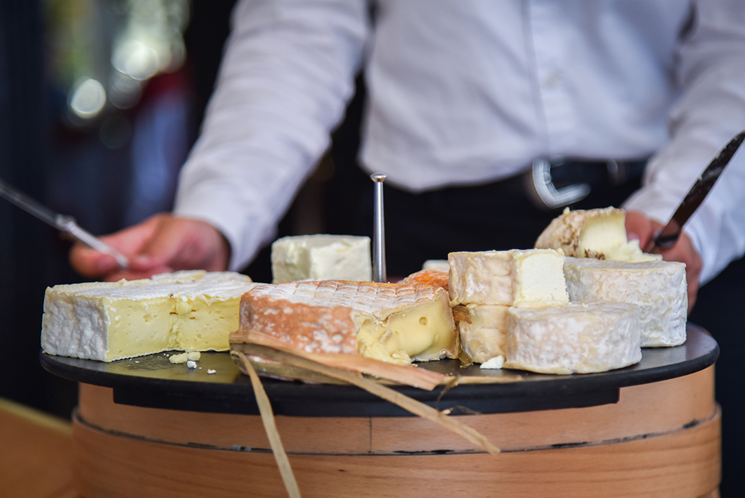 Fromage au Donjon à Étretat