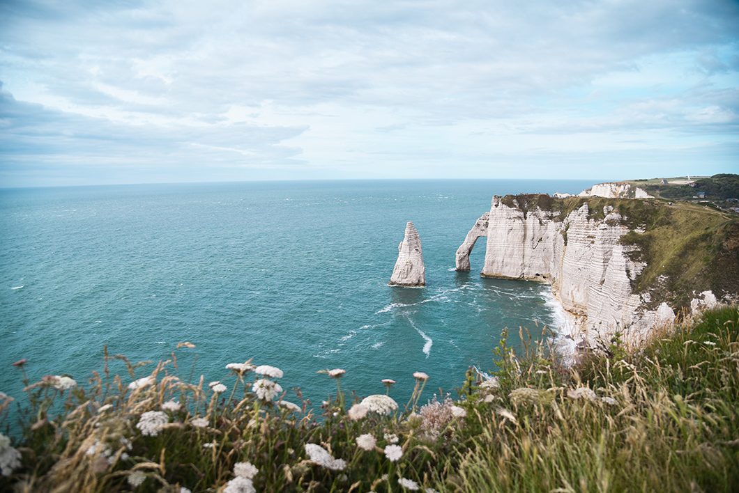 Pointe de la Courtine, plus beau point de vue à Étretat