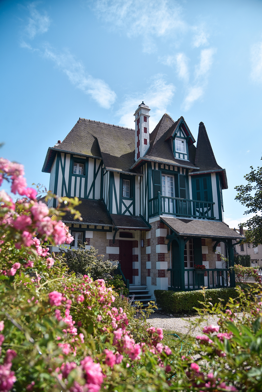 Les belles villas de Deauville et Trouville