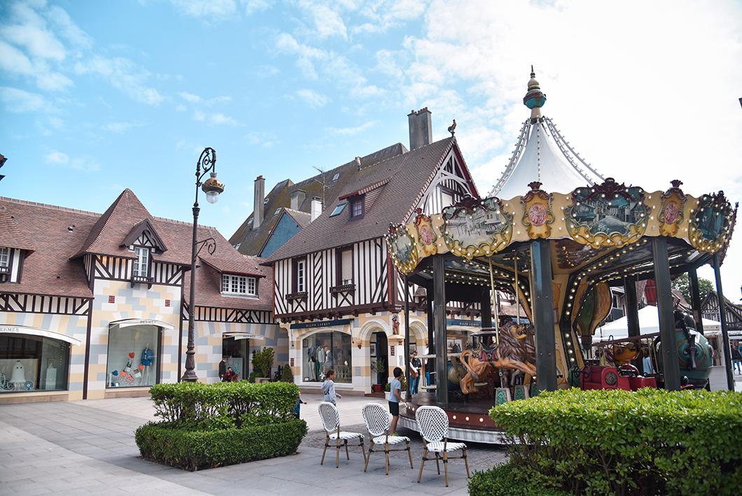 Les boutiques de luxe à Deauville
