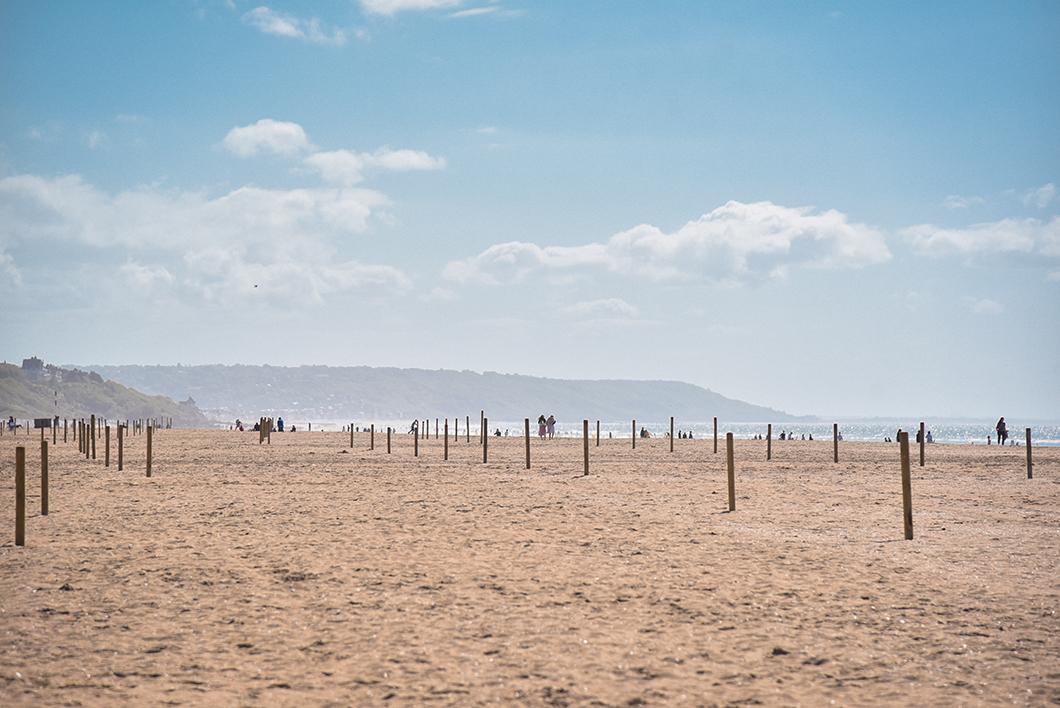 Week end à Deauville, Aller à la plage, activité incontournable
