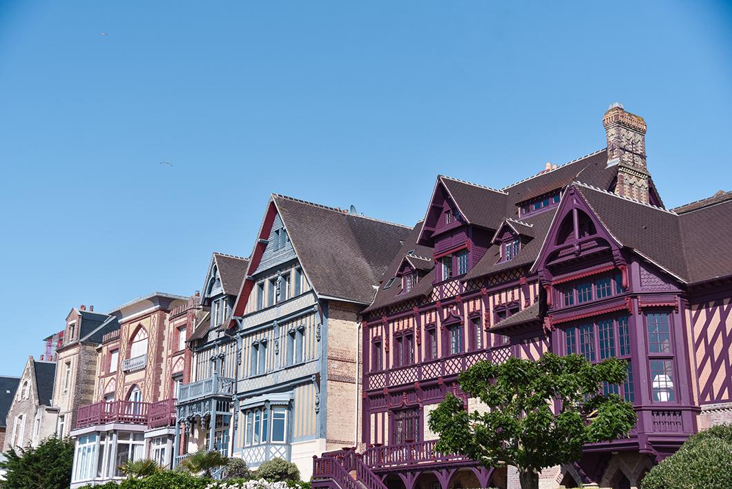 Architecture de Deauville et Trouville