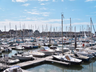 Se balader sur les ports de Deauville et Trouville