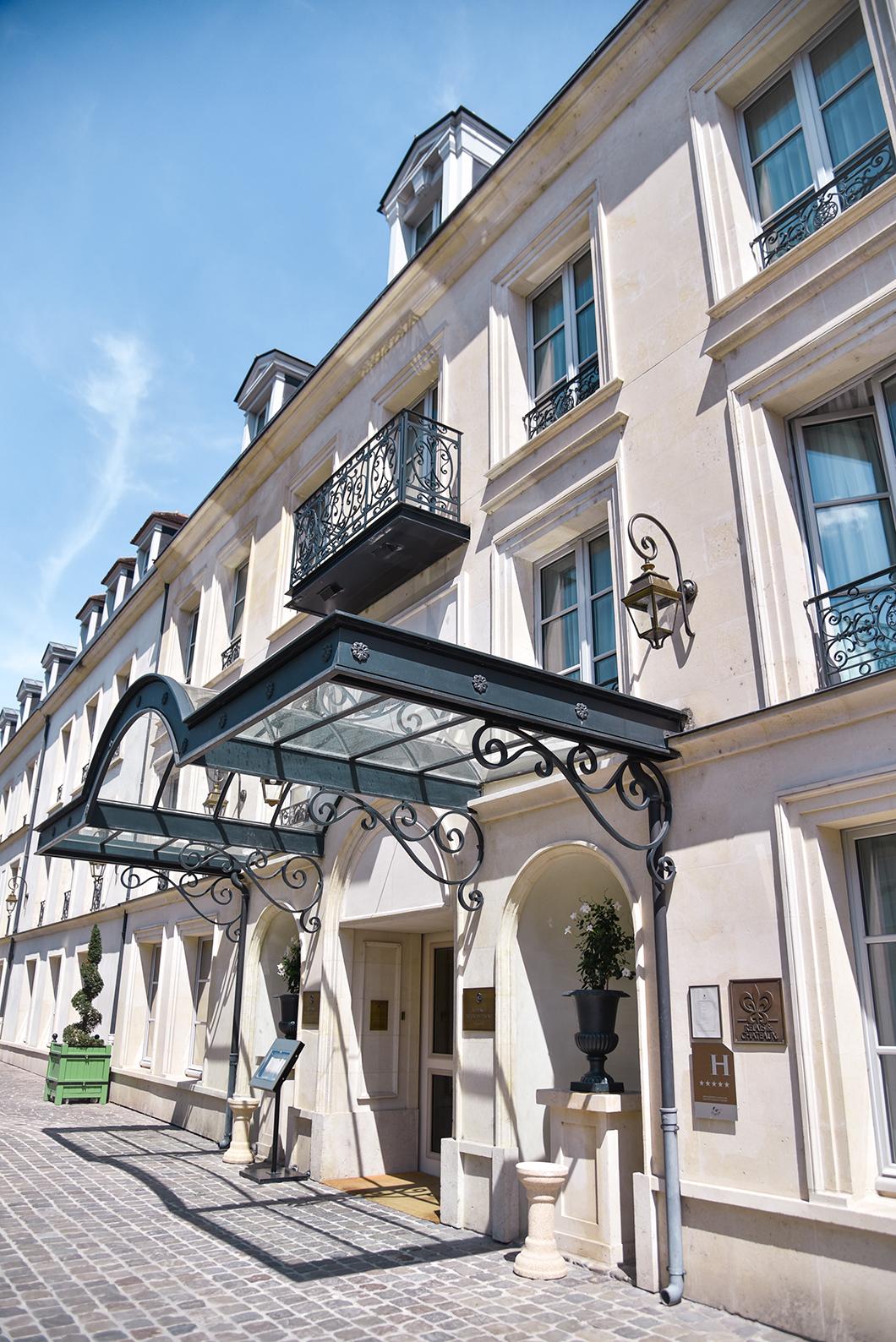 Hotel et restaurant à Chantilly, l'Auberge du Jeu de Paume