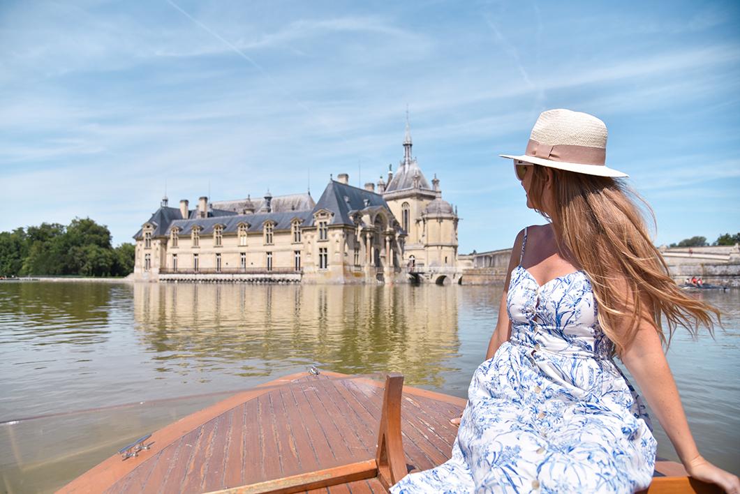 Faire un balade en bateau à Chantilly