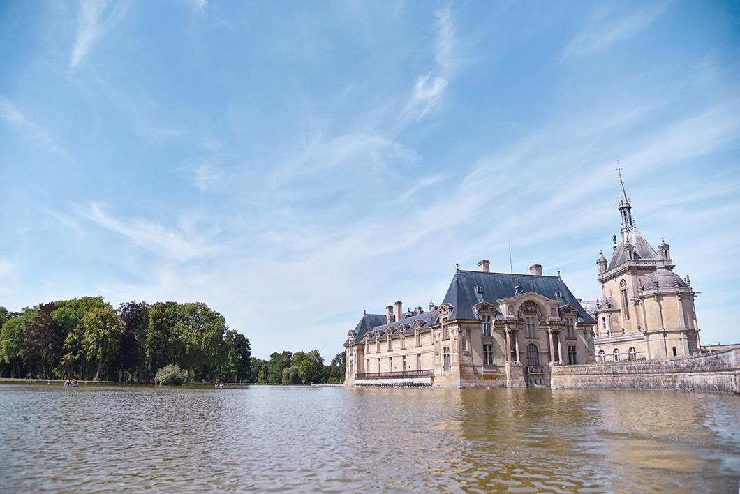 Visiter Chantilly en bateau