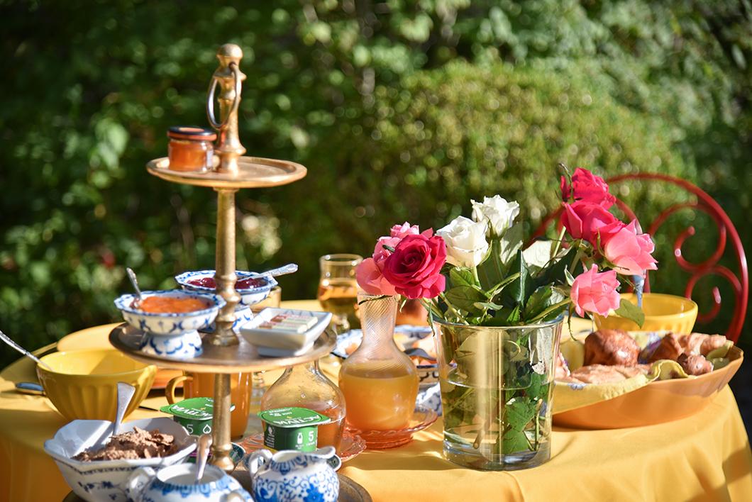 L'incroyable petit déjeuner du Manoir des Cavaliers