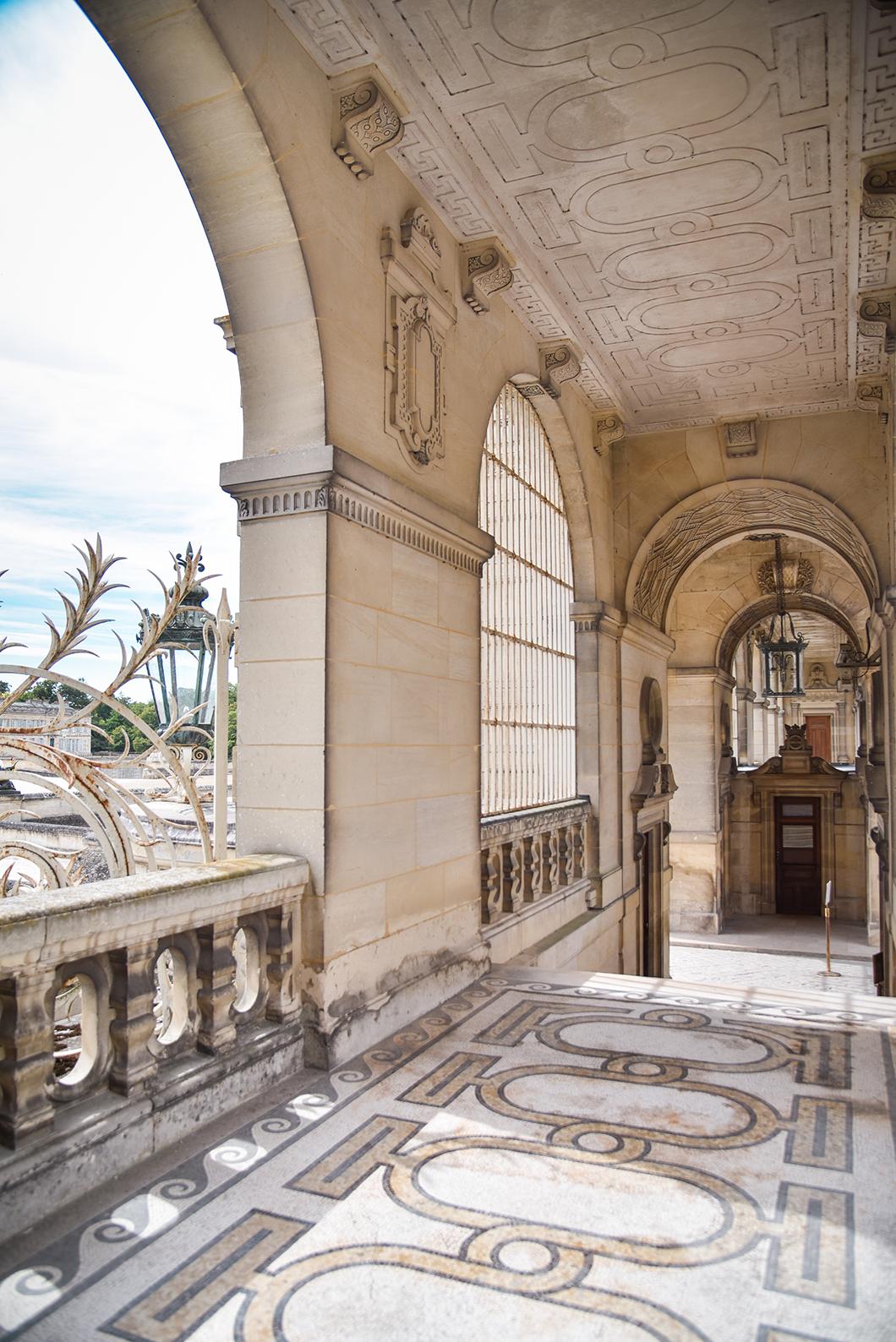 Visiter l'intérieur du Château de Chantilly