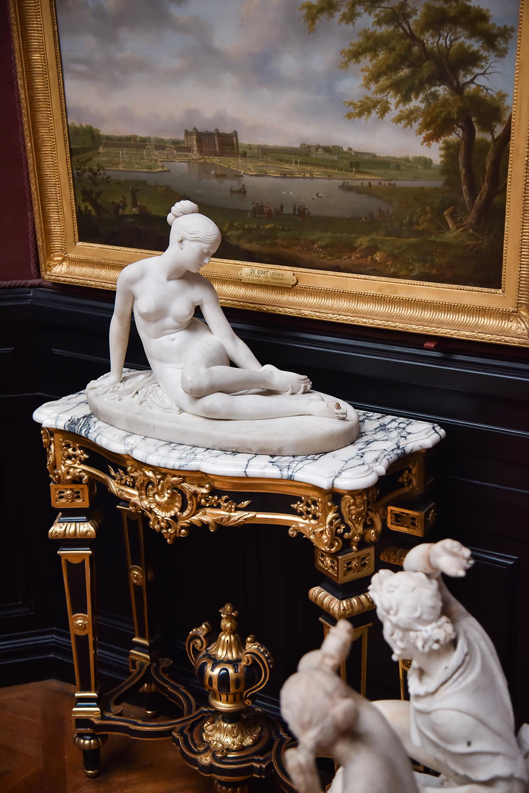 Sculptures du Château de Chantilly