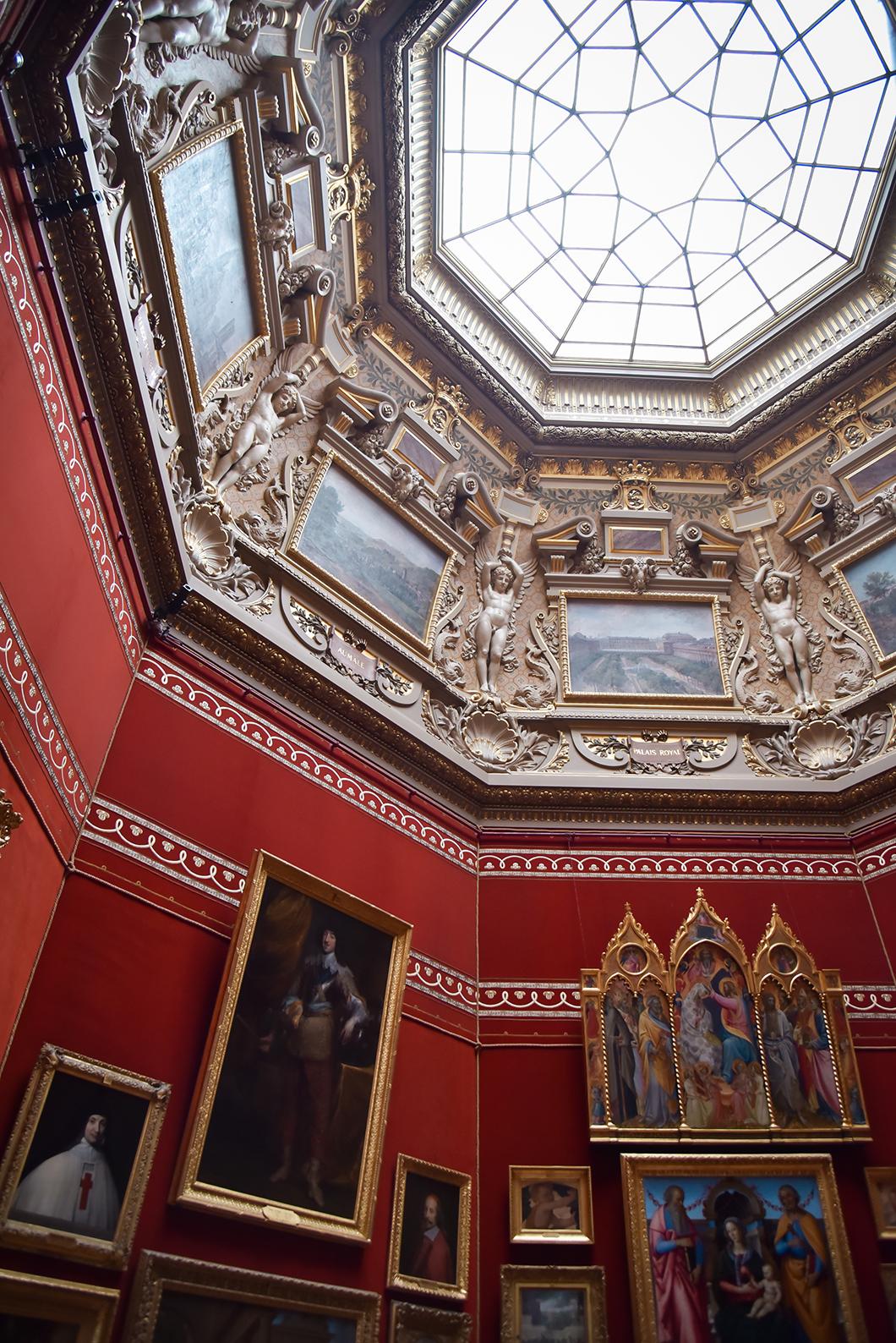 Visite de l'intérieur du Château de Chantilly