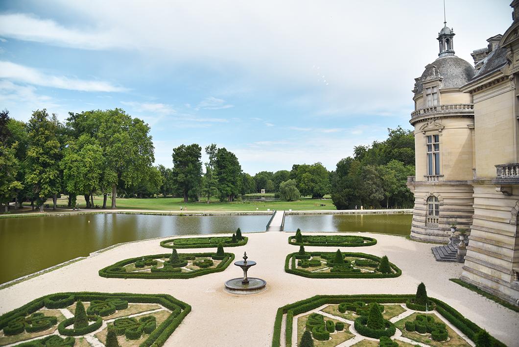Jardin à la française André Le Nôtre au Domaine de Chantilly