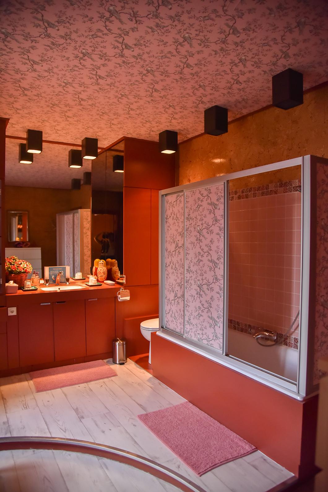 Salle de bain au Manoir des Cavaliers