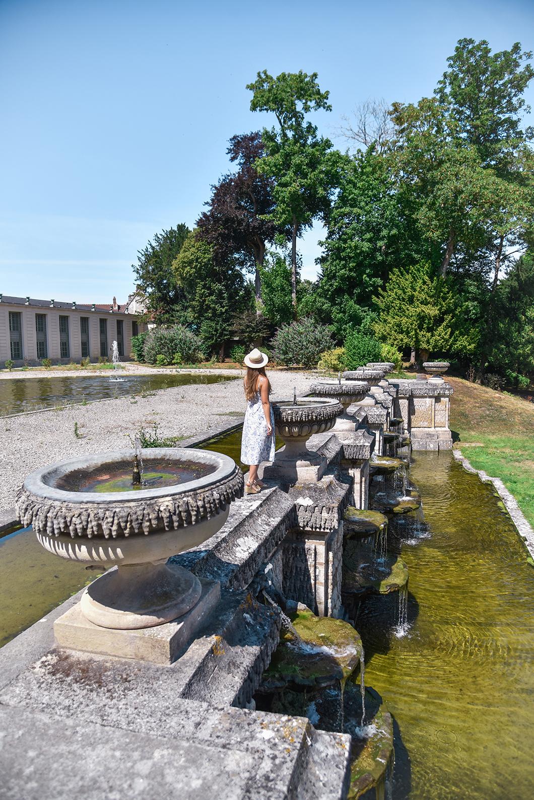 Visiter le jardin du Domaine de Chantilly