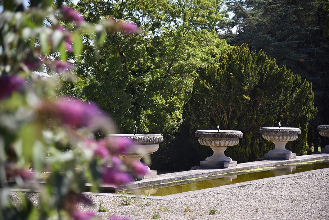 Les jardins du Château de Chantilly