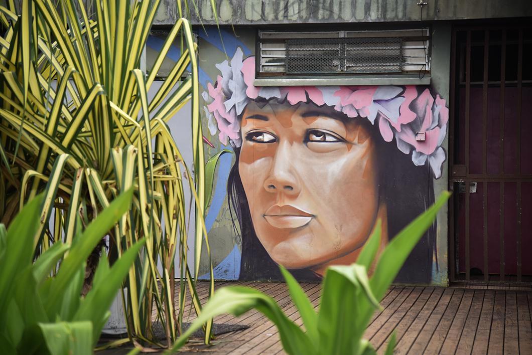 Les oeuvres de street art à Tahiti