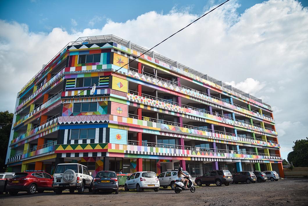 Le street art de Papeete à Tahiti