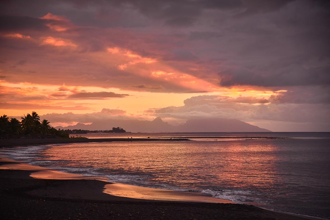 Les meilleurs spots pour le coucher de soleil à Tahiti