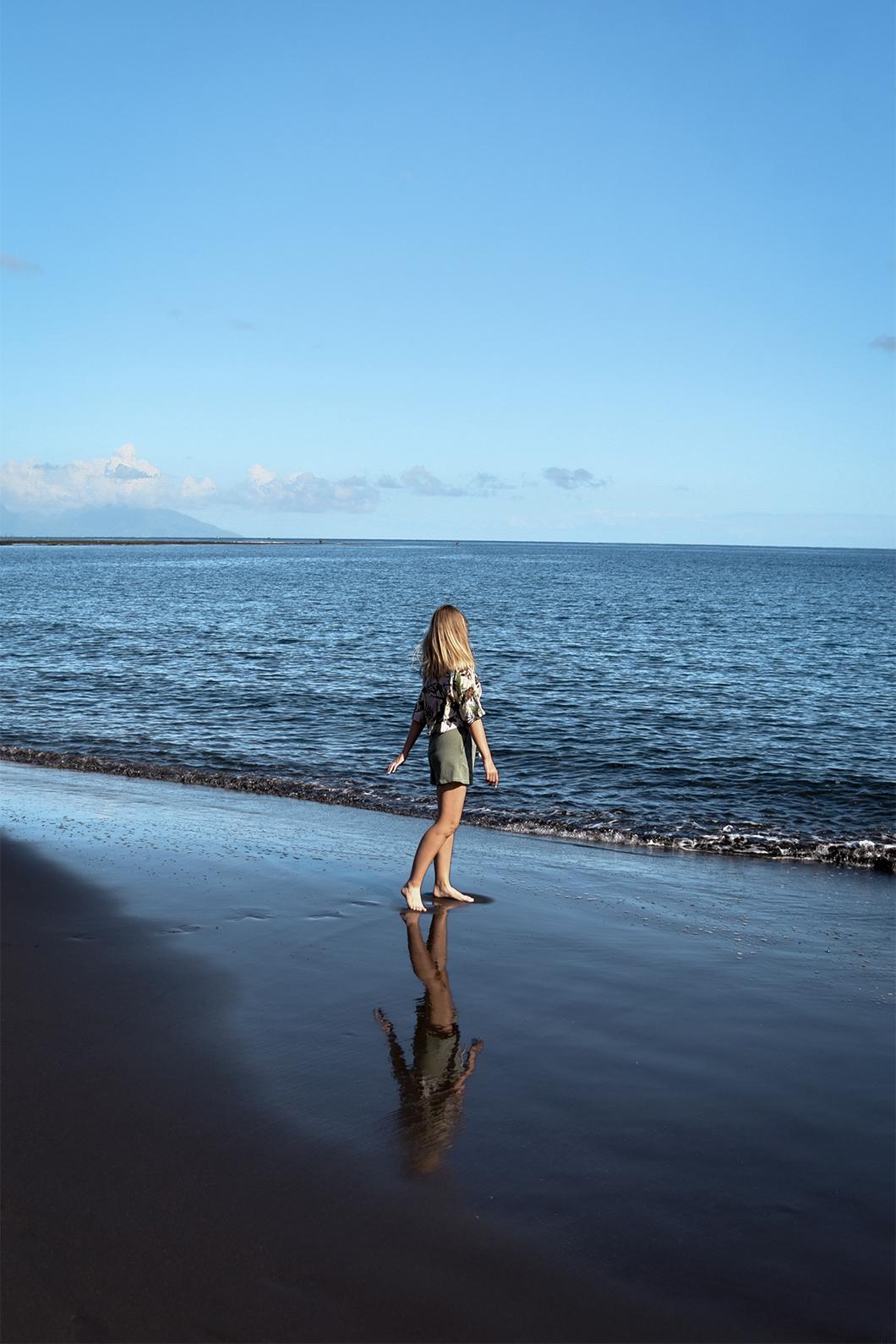 Que faire à Tahiti ? Se baigner à la plage Lafayette