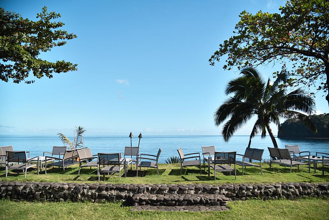 Restaurant en extérieur au Tahiti Pearl Beach