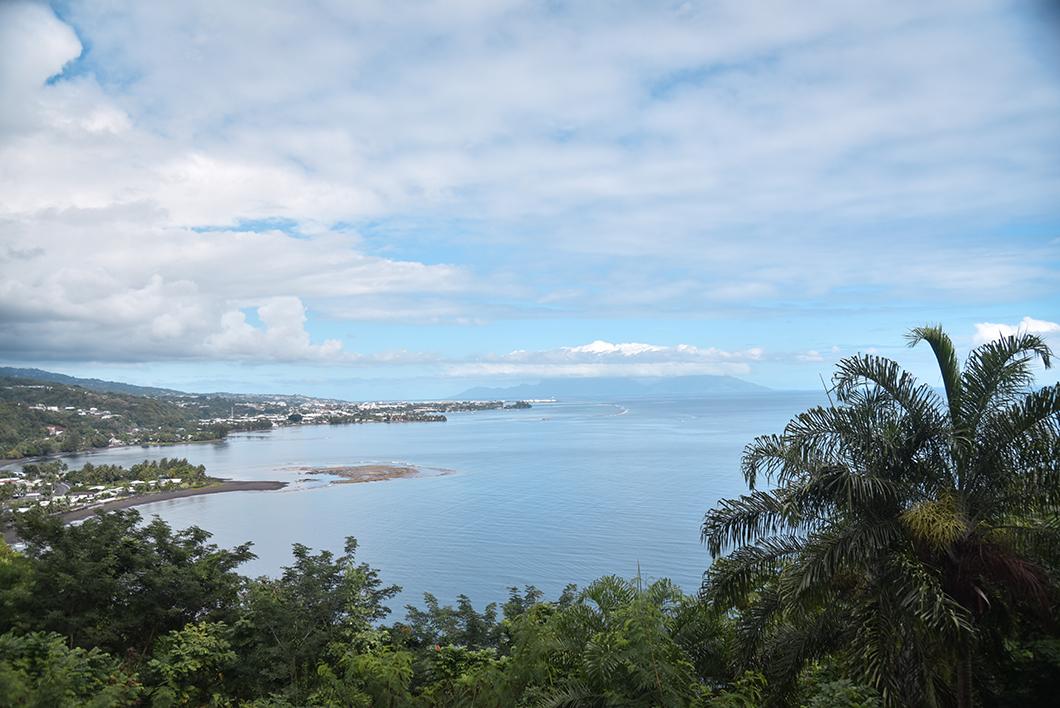 Le col du Tahara'a, point de vue à voir à Tahiti
