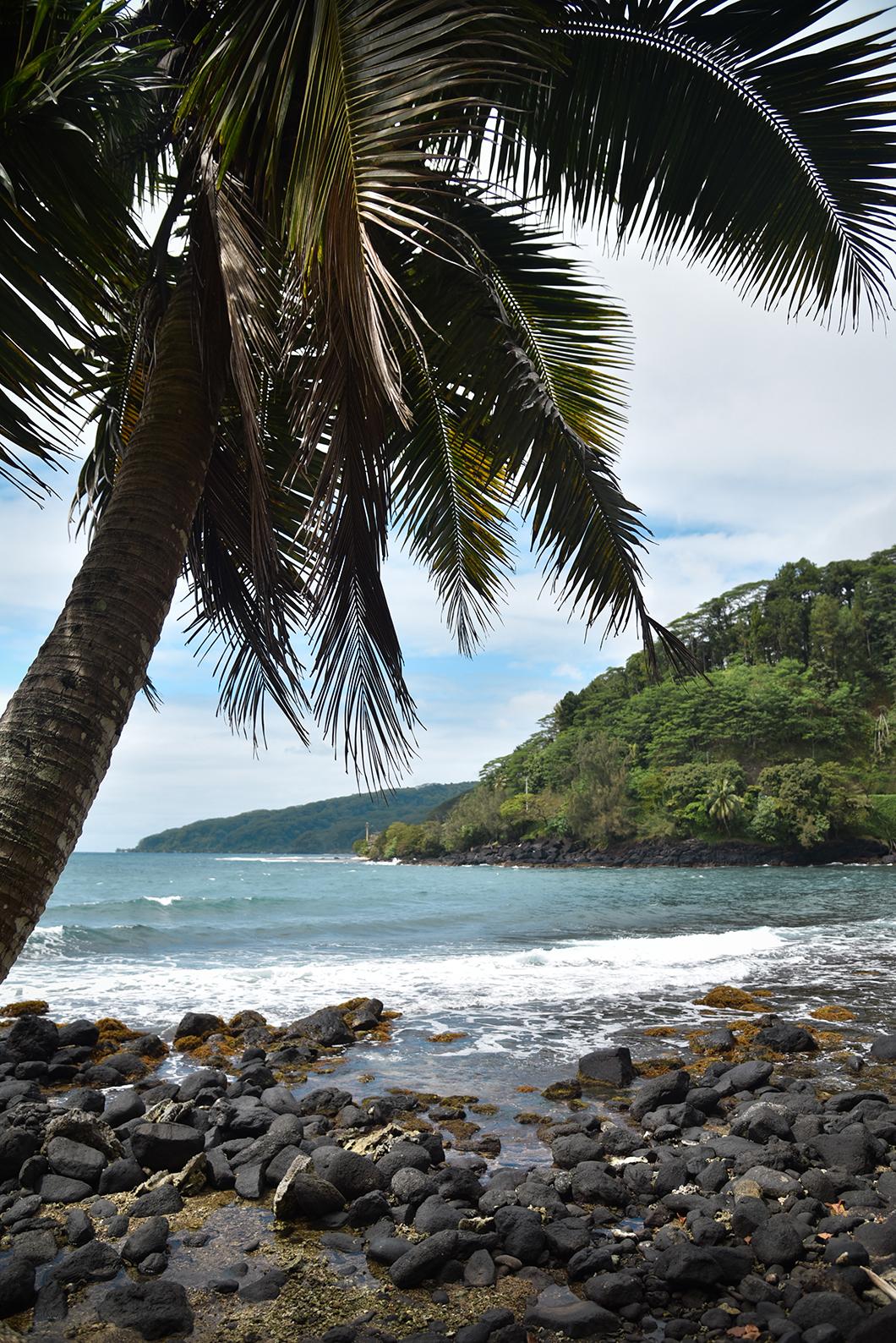 Voir le trou du souffleur à Tahiti
