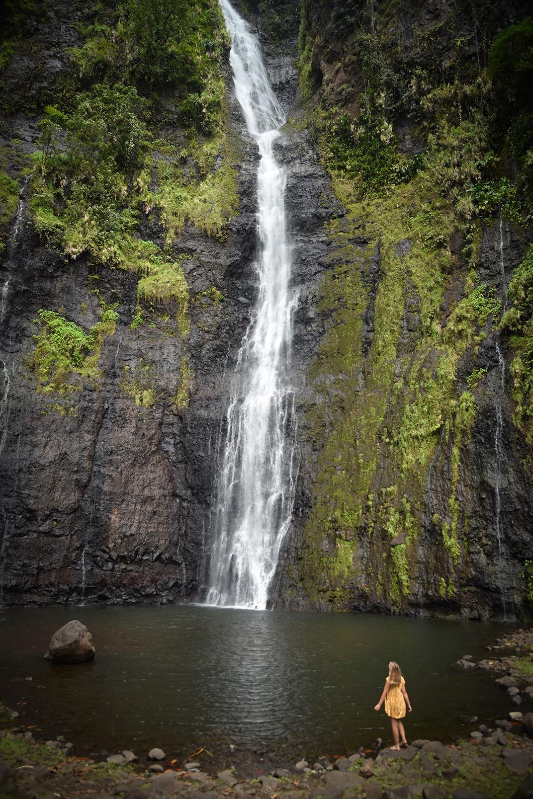 Faire la randonnée des trois cascades de Faarumai, incontournable à Tahiti