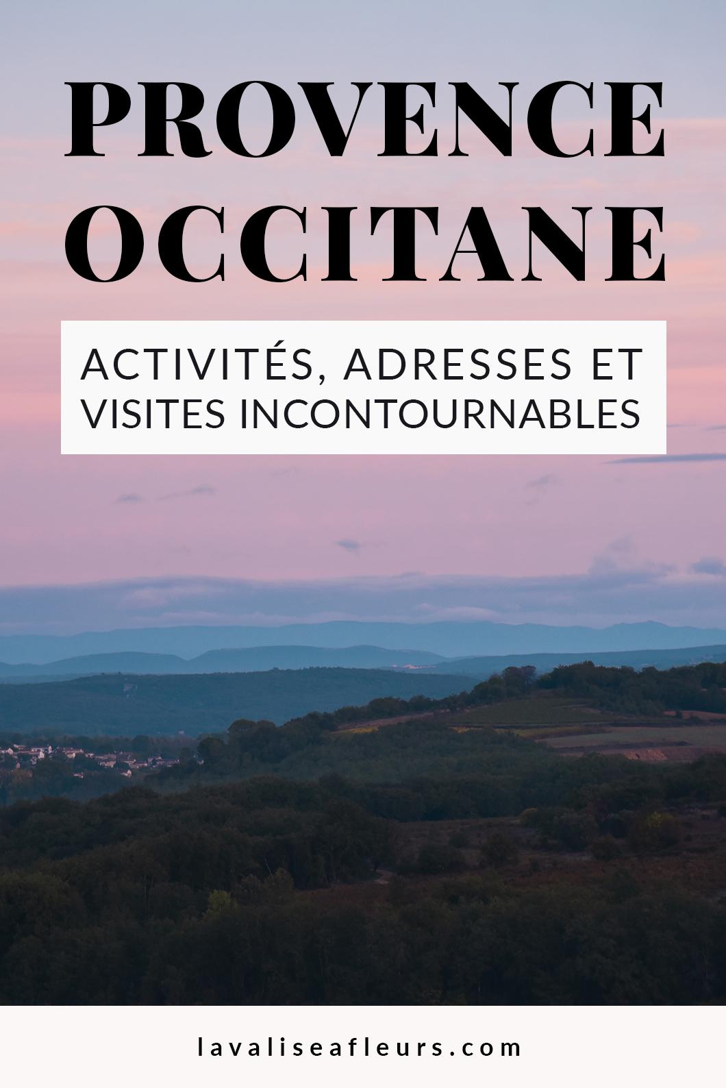 Activités et visites incontournables en Provence Occitane en France