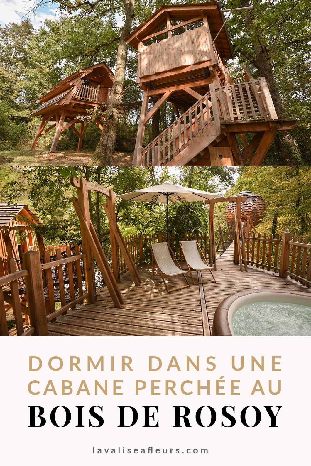 Dormir dans une cabane dans les arbres au Bois de Rosoy à 1h de Paris