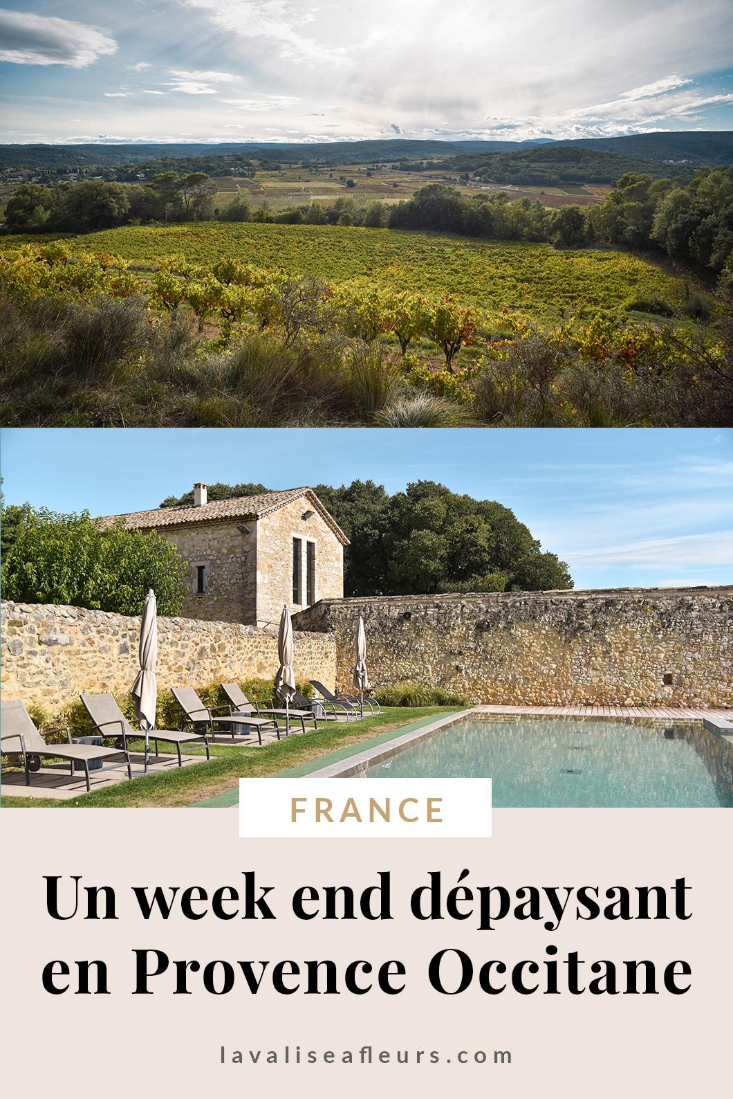 Un week end dépaysant en Provence Occitane en France