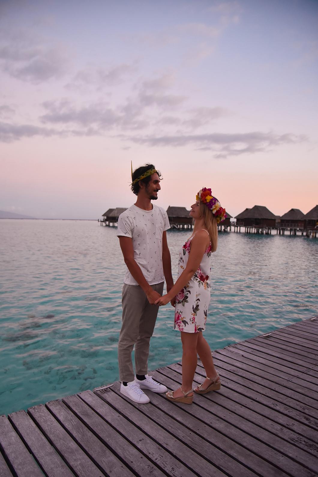 Soirée polynésienne à l'hôtel Sofitel Ia Ora Beach