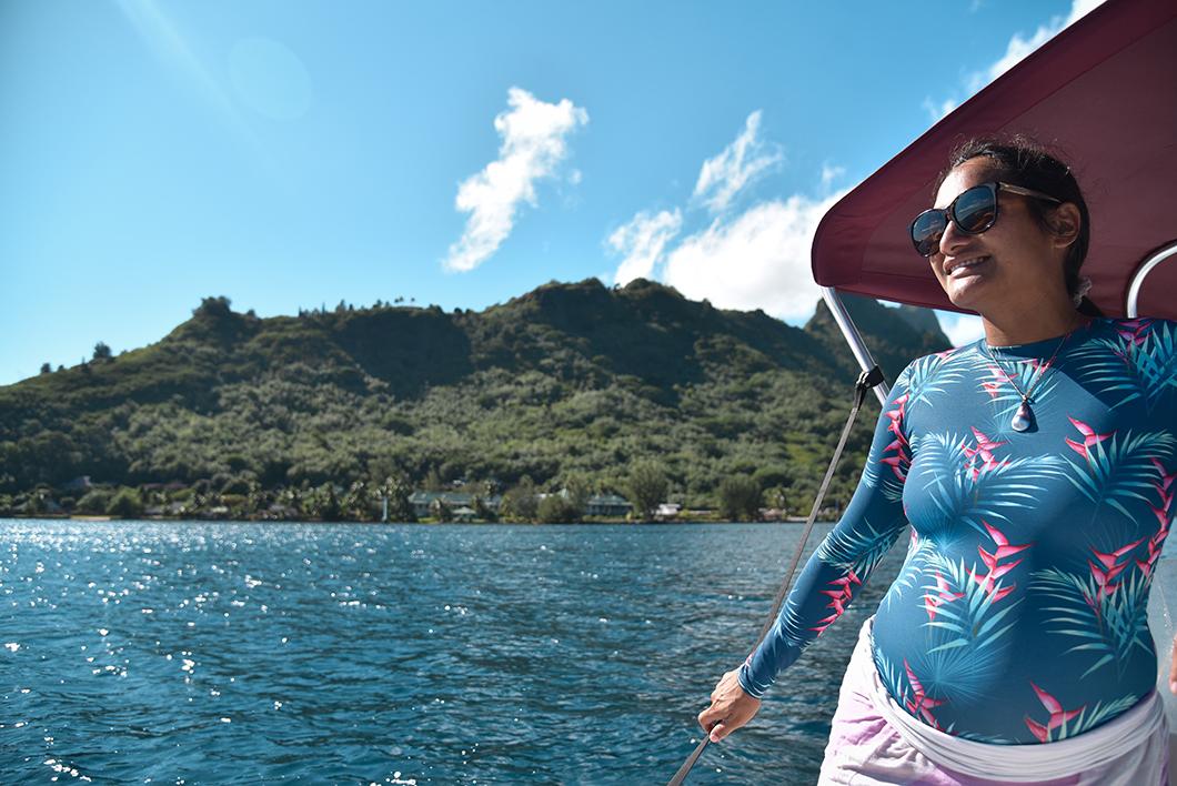 Heireti, notre guide pour visiter le lagon de Moorea en bateau