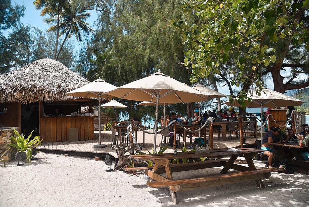 Les meilleurs restaurants de Moorea, le Coco Beach