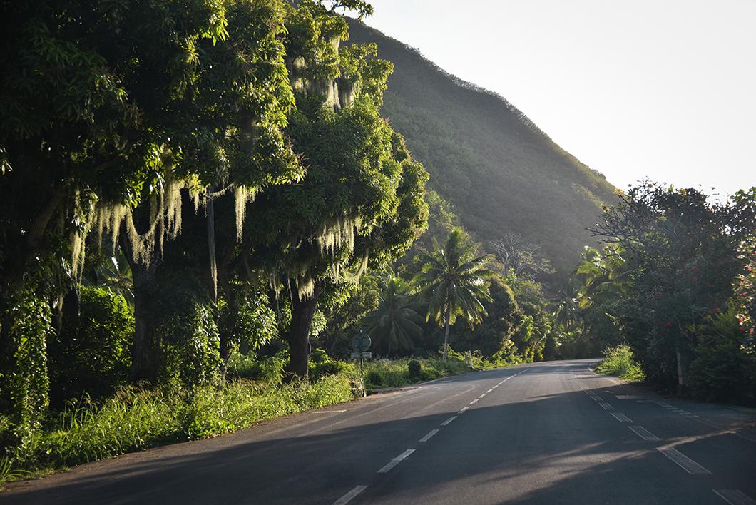 Tour de l'île de Moorea