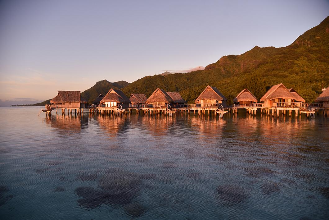 L'hôtel Sofitel Ia Ora Beach, super spot pour le coucher de soleil