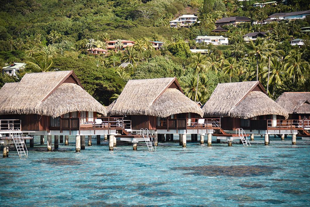 Nuit sur pilotis, voyage de noce en Polynésie Française